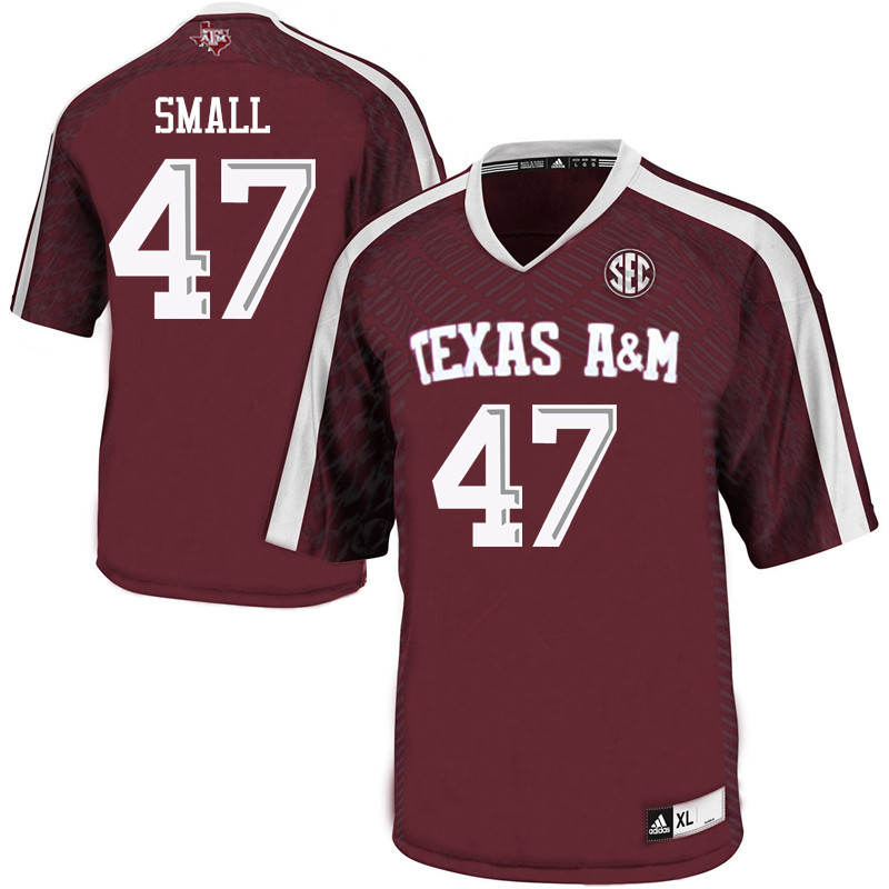 Men #47 Seth Small Texas A&M Aggies College Football Jerseys Sale-Maroon
