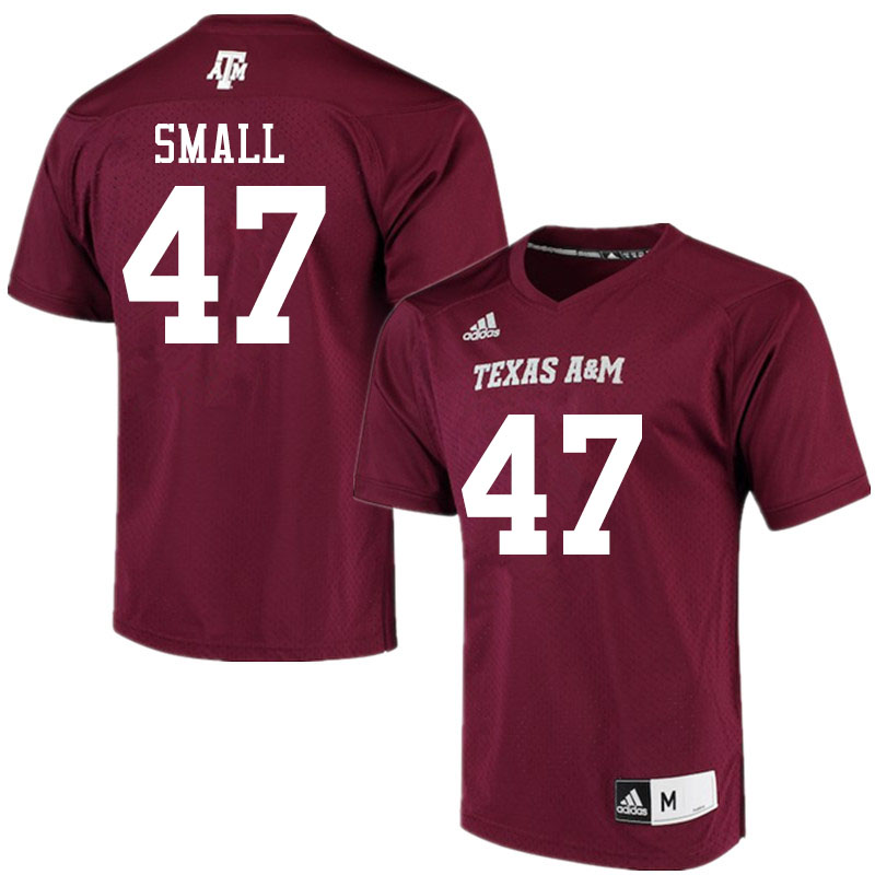 Men #47 Seth Small Texas A&M Aggies College Football Jerseys Sale-Maroon Alumni Player