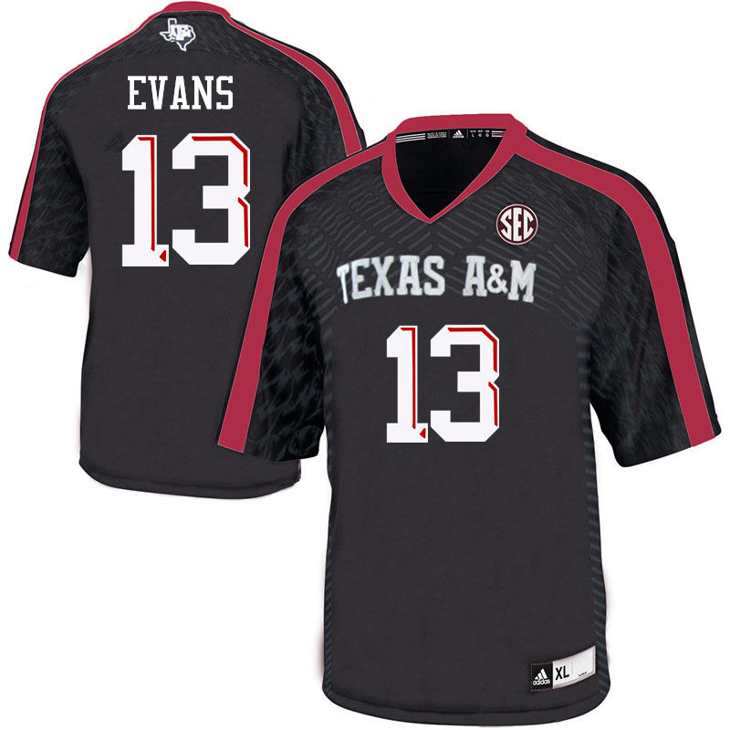 Men #13 Mike Evans Texas A&M Aggies College Football Jerseys-Black