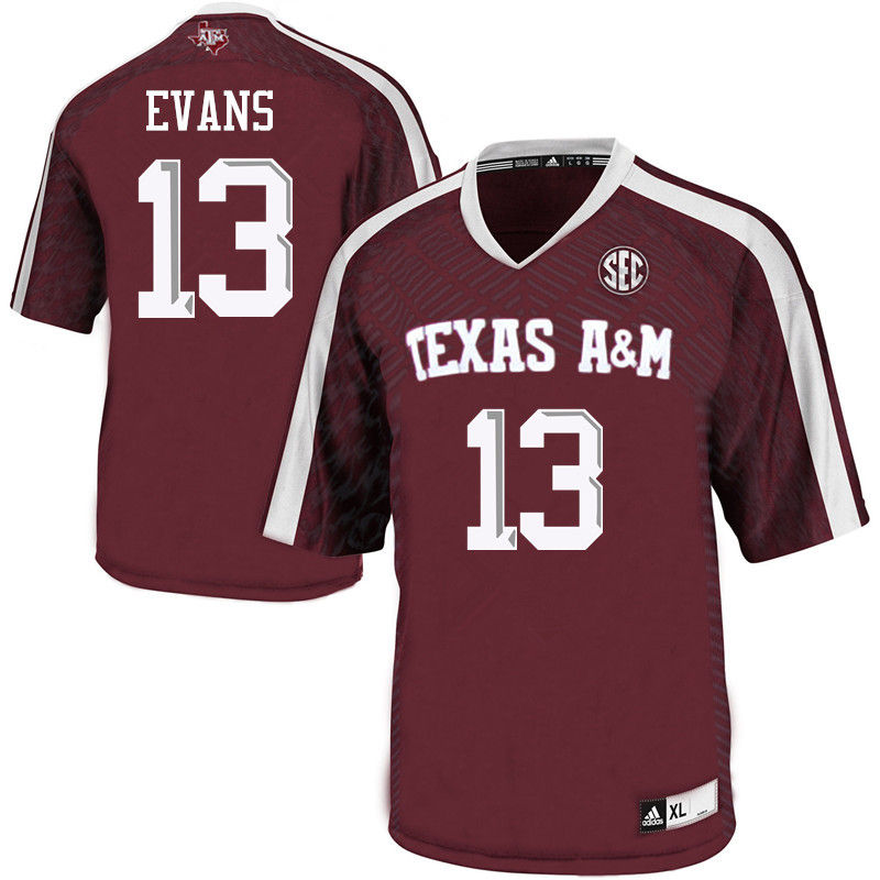 Men #13 Mike Evans Texas A&M Aggies College Football Jerseys-Maroon