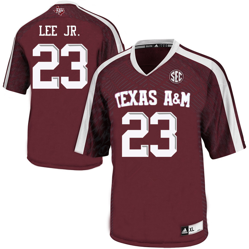 Men #23 Tarian Lee Jr. Texas A&M Aggies College Football Jerseys Sale-Maroon