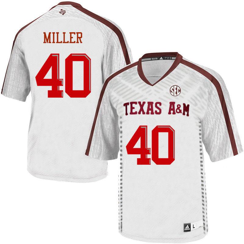 14e267b37 ... Red Men 40 Von Miller Texas AM Aggies College Football Jerseys-White ...